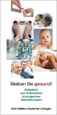 Broschüre: Ratgeber zur Prävention urologischer Erkrankungen