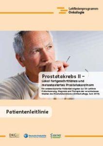 Broschüre: Prostatakrebs II – Lokal fortgeschrittenes und metastasiertes Prostatakarzinom