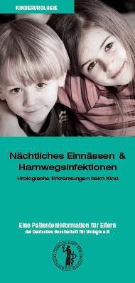 Broschüre: Einnässen und Harnwegsinfektionen beim Kind