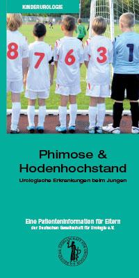 Broschüre: Phimose und Hodenhochstand Urologische Erkrankungen beim Jungen