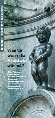 Broschüre: Was tun, wenn die Prostata wächst?