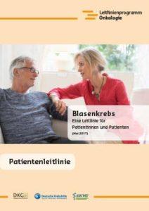 Broschüre: Patientenleitlinie Blasenkrebs