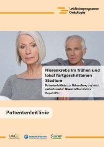 Broschüre: Patientenleitlinie Nierenkrebs im frühen und lokal fortgeschrittenem Stadium