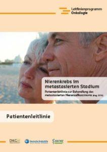 Broschüre: Patientenleitlinie zur Behandlung des metastasierten Nierenzellkarzinoms