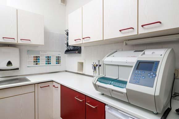 Messgerät der Praxis für Urologie Demmin