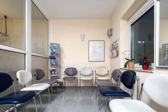 Wartebereich der Praxis für Urologie Demmin