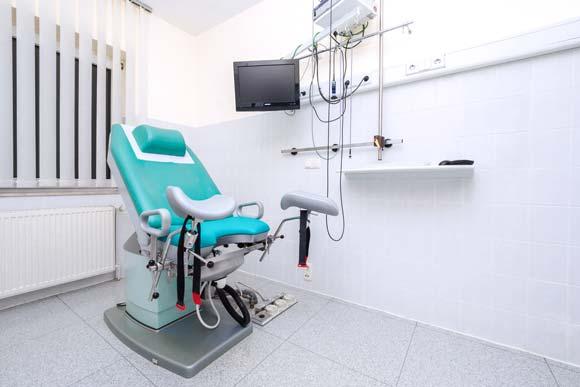 Behandlungsraum der Praxis für Urologie Demmin