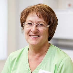 Arzthelferin Inge Baumann