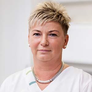 Arzthelferin Ilona Zeidler