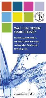 Broschüre: Was tun gegen Harnsteine?