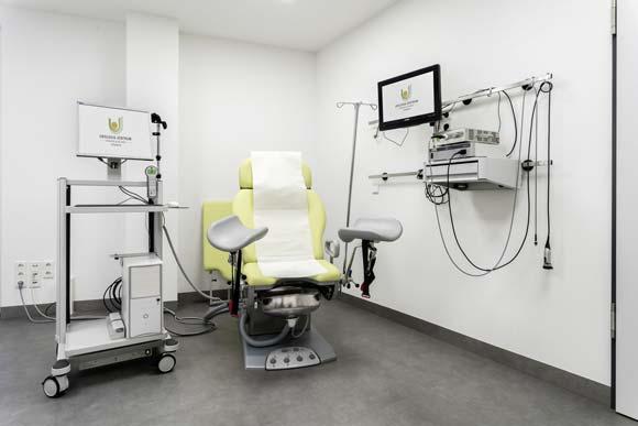 Urologie Demmin Behandlungsraum