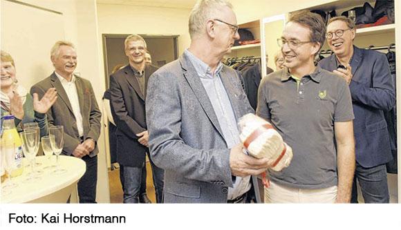 Abschied von Dr. Bernd Sanmann aus der Praxis für Urologie Demmin