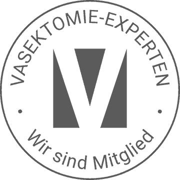 Siegel des Vasektomie-Experten (Sterilisation des Mannes)
